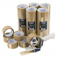TAPE BROWN PVC PARCEL 2in TA301